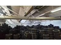 Job lot of part worn tyres