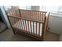 A used Cosatto Close To Me bedside cot in good condition. Pick up only.