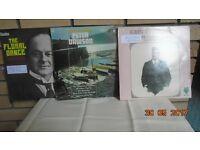 3 x vinyl L P's Ballads & light Opera. John McCormack & Peter Dawson