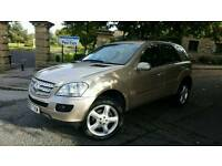 Mercedes Benz ML Silver Gold Class 280 Sport Auto Full Service history