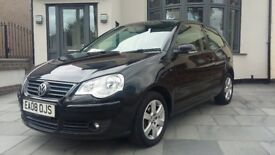 2008 Polo 1.2 Match, Great condition, Brand new MOT and just serviced! only 50K!