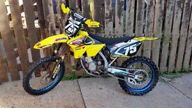Suzuki rm125 2008 ROAD REGISTERED MOTOCROSS ROAD LEGAL cr kx sx exc yz crf rmz yzf sxf excf enduro