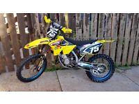 Suzuki rm125 2008 ROAD REGISTERED MOTOCROSS ROAD LEGAL cr kx sx exc yz crf rmz yzf sxf excf enduro