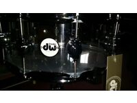 Brand New DW Design Series Acrylic 14 x 5.5 Snare Drum Boxed with TAG
