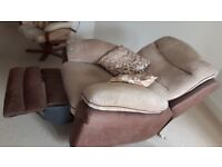 Soft electric recliner chair
