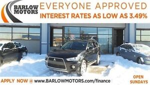 2013 Mitsubishi Outlander XLS*EVERYONE APPROVED*APPLY NOW DRIVE