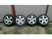 SET OF 17 INCH VW/AUDI ALLOYS 5X112 £100