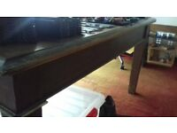 Oak table / desk