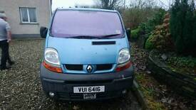 2003 Renault Trafic 1.9D wheelchair accessible