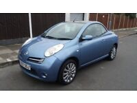 NISSAN MICRA (SPORT) CONVERTIBLE - 07-REG - 2007 (NEW SHAPE) 2 DOOR - 1.6 LITRE - £1695