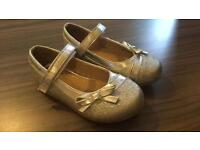 Size 6 Infant sparkly girls shoes
