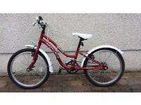 Girls bike 7-10 years old