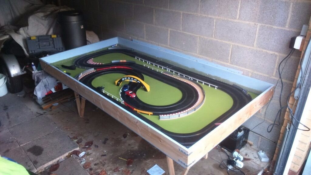 Hand Controls For Cars >> Scalextric layout - fold away | in Emersons Green, Bristol | Gumtree