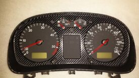 98-02 Mk4 Golf / Bora Dash Clocks in 4D Carbon fibre and GT TDI ECU