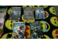 Various kids dvds and harry potter collection