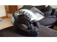Shark Evoline 3. Full flip helmet
