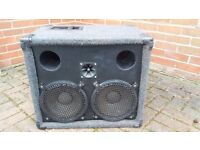 Ported Bass cabinet 2X10 Soundlab Pro Drivers 400W