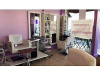 A fully fitted license hair and beauty salon complete with high specifications, available now.