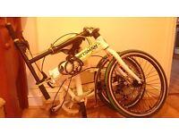 """Folding bike - Sportsman, 20"""". Like new. women & men"""