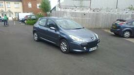 Peugeot 307 facelift model with low miles and 12 months mot