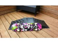 skateboard and ramp for sale
