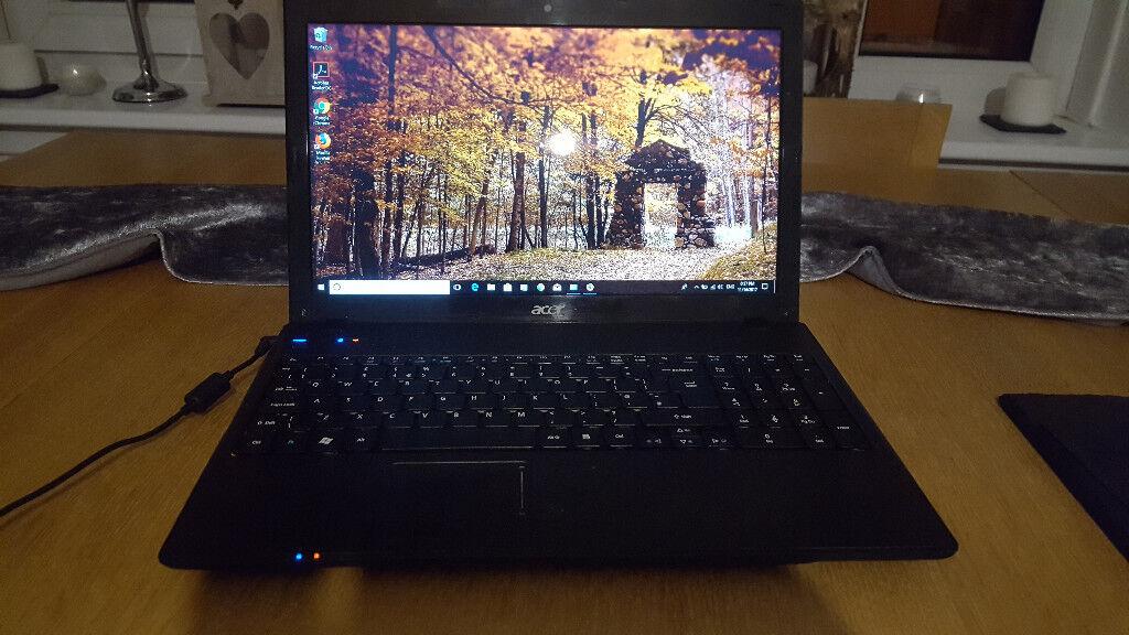 Acer Aspire 5742 Intel i5 M480 2.67GHz 4GB RAM 64 bit