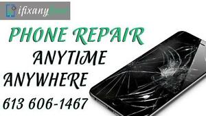 iPhone Screen Repair – iPhone 5-5s-5c SE – iPhone 6 – iPhone 6 Plus – iPhone 6s - Cracked Screen Replaced - 613 606-1467
