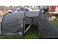 3 man large tunnel tent