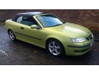 saab 9-3 vector convertible turbo diesel 2007 07 plate