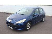 2006 Peugeot 307 S 1.4 petrol, mot until september, good tires, tidy inside