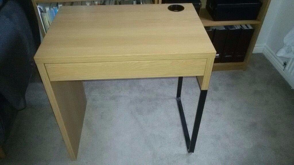 Oak micke table pictures desk picturesboss