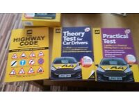 AA Learn To Drive 3 Book Package