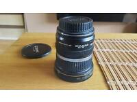 Canon ef s 10-20 leans with ultra violet filter