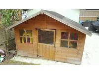 Wooden Playhouse 7 x 5