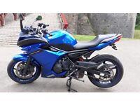 Yamaha, XJ, 2010, 599 (cc)