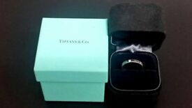 Tiffany & Co Diamond Platinum 950 Eternity Ring