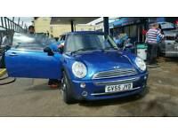 Blue Mini One 2005 Hatchback