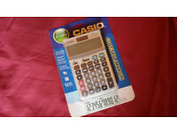 Casio JF-120MS Calculator (BNIP)