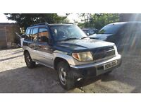 Shogun mitsubishi spare or repair