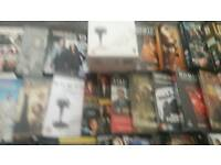 Mixed selection of DVD s