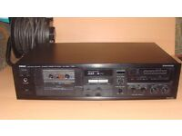 Yamaha KX-300 Natural Sound Stereo Cassette Deck Working Condition