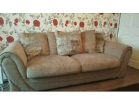 2&3 seater sofas in lattee color