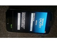 LIKE NEW Samsung S4 mobile phone in Black Mist