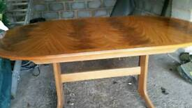 Dining table ...extending 6/8 places