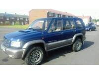 2003 IZUZU TROOPER 3.0 TDI DEISEL CITATION LWB ESTATE