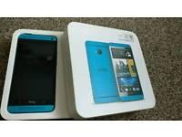 HTC ONE M7 Blue