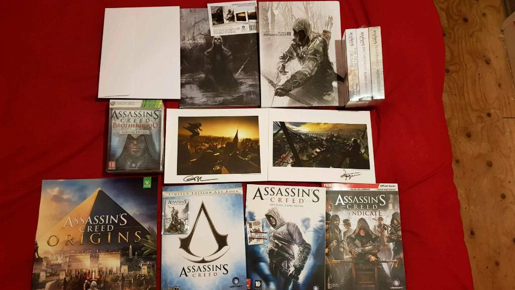 Assassins Creed Collectors Items