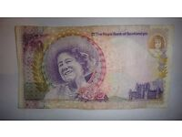 queen mother £20 pound notes