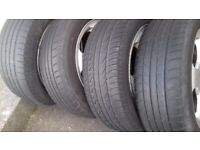 "Skoda Mk1 Octavia 16"" Alloys Set Of 4 With Tyres"