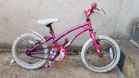 Apollo popstar bike 4 to 7 year old.